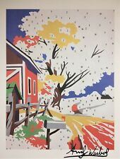 ANDY WARHOL HAND SIGNED * DO-IT-YOURSELF (LANDSCAPE) *  PRINT