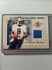 A8061 - 2002 Private Stock Game Worn Jerseys #124 Steve McNair