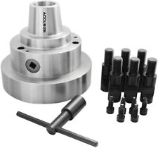 Accusize Industrial Tools 5C 5'' Collet Chuck Integral D1-6 Camlock Mounting