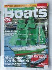 """Model Boats Plan """"38ft Fifie """" & Magazine June 2009 Vol.59 Issue 703"""