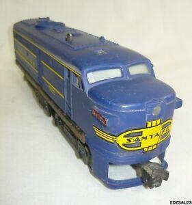 Lionel Santa Fe 8022 Diesel Locomotive Model Train Engine