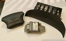 1999 - 2004 Ford Mustang Driver & Passenger (Left & Right) Airbags OEM Charcoal