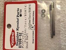 KYOSHO DRX, DBX 2, DST, INFERNO GT 2 RACE SPEC, SHOCK SHAFTS, 97009-52, BSW74