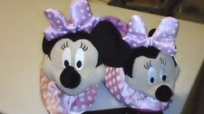 Disney Clothing Minnie Mouse Slippers  Child Size 11-12