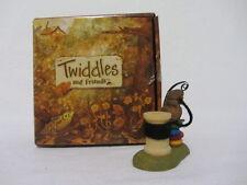 """Boyd'S Twiddles & Friends """"Twiddles"""" On Spool Of Thread Mouse Figurine Mib"""
