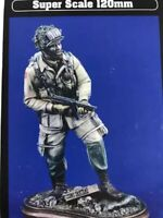 1/16 Resin Figure model Kit US Soldier Airborne Paratrooper WWII WW2 Unpainted