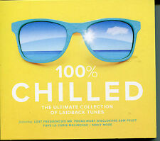 100% CHILLED - 3 CD BOX SET - THE ULTIMATE COLLECTION OF LAIDBACK TUNES