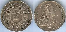 Jeton royal - Louis XV ROUEN argent / silver 8 gr d=30mm TBà TTB