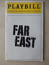 December 1998 - Mitzi E. Newhouse Theatre Playbill - Far East - Sonnie Brown