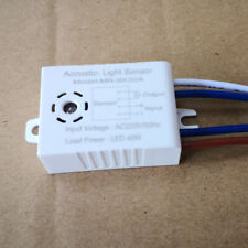220V Active Components Acoustic Sensor Switch Corridors LED Sound Operated Tools