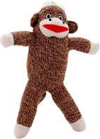 Pet Qwerks Sock Monkey Dog Toy