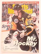 Vintage 1992 SPORTS ILLUSTRATED MAGAZINE MARIO LEMIEUX PENGUINS Issue!!
