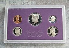 1986 United States US Mint 5pc Clad Coin Proof Set