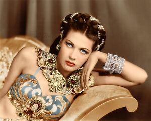 Yvonne De Carlo -From Salome 8X10 Photo Reprint