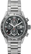 CAR208Z.BF0719 Tag Heuer Carrera CAL01 Mens Watch Titanium Case and Bracelet