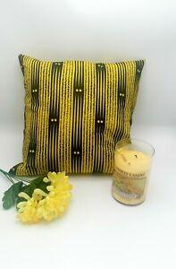 Decorative cushion cover, Africa print cushion, African home decor Ankara pillow