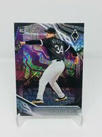 2019 Panini Chronicles Baseball Michael Kopech Phoenix Purple Mojo /75 White Sox