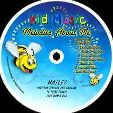 ~eBay~Melodies About Me Personalized Kids Music CD