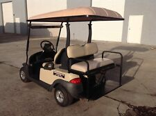 2013 Club car 4 passenger seat Precedent golf cart 48 volt 48v nice tan