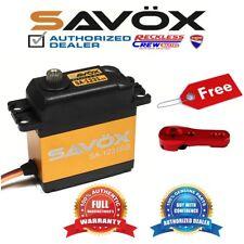 Savox SA-1231SG High Torque Steel-Gear digital servo + Free ALU servo horn Red