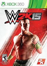 WWE 2K15 Xbox 360 Brand New Sealed Fast Shipping