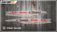 CustomMX - Swing arm decal to fit KTM SXF 2011-2020 & SX 2012-2020
