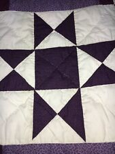 Authentic Amish Handmade King Quilt 104' x 115' From Lancaster, Pennsylvania.