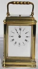 Brass French Antique Mantel & Carriage Clocks