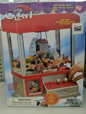 Original Claw Toy Grabber Machine Electronic Sounds Arcade Game Crane/ Box New