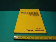USED FANUC SERIES 30i USER'S MANUAL VOLUME 3 OF 3 ONLY B-63944EN/02