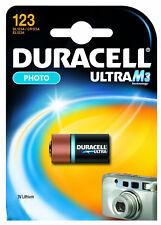 Pila Batteria Duracell  DL123 Ultra M3 Lithium -  3 V