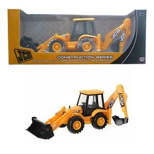 JCB Back Hoe & Digger Construction Toy TL107 New