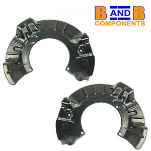 BMW MINI R50 R52 R53 ONE COOPER S FRONT DISCS BACK PLATES A1414