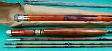 George L. Varney Bamboo Fly Rod Montague City, Mass. c. early 1900's Beautiful!