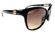GUCCI Women's Sunglasses GG3645/S Shiny Black 56-15-135 MADE IN ITALY - New!