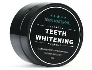 Natural Organic Activated Charcoal Tooth Teeth Whitening Powder
