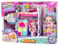Shopkins Lil Secrets Rainbow Kate Bedroom Hideaway Ages 5+ Toy Doll House Set