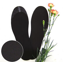 3 pairs Wicking Anti-biotic Deodorant Bamboo Charcoal Insoles