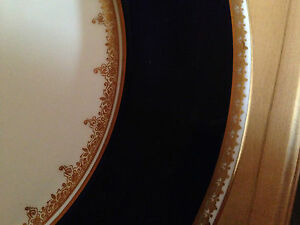 """Gold Trim 7-7//8/"""" Salad Plate Scattered Floral Adderly China Lawley"""