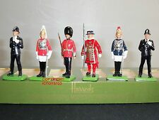 Britains harrods lifeguard police yeoman scots guard london toy soldier set