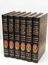 Tom Swift Classics by Victor Appleton, Easton Press, 6 books