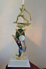 "13"" Sport Riser Baseball Trophy Free Engraving"