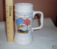 "1994German Beer Stein/Mug ""Declaration of Independence"" Made by Schedel, Bavaria"