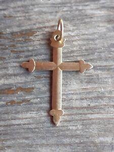 Bijoux régional Ancienne Croix En Or Gapensaise