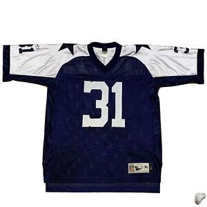 Rare Mens Dallas Cowboys #31 Ricky Williams NFL Classic Reebok Jersey  Size XL