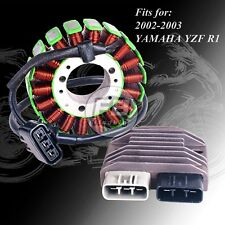 NEW Kit Stator + Voltage Regulator Rectifier For 2002-2003 YAMAHA YZF R1