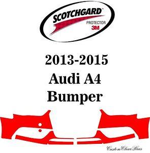 3M Scotchgard Paint Protection Film Clear Bra Pre-Cut 2013 2014 2015 Audi A4