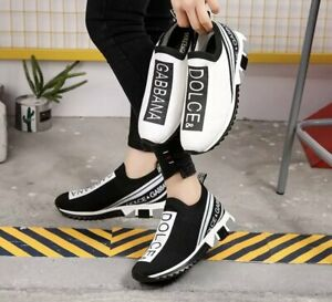 Dolce Fashion Solid Color Sneakers