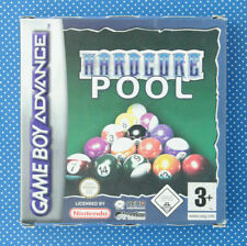 Hardcore Pool (Nintendo Game Boy Advance, 2002, incl. caja original y manual)