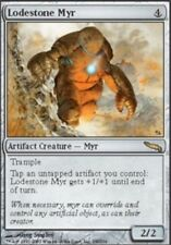 [1x] Lodestone Myr - Foil [x1] Mirrodin Slight Play, English -BFG- MTG Magic